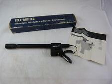 Tele-Mic Elc Telescopic Microphone Electret Condenser