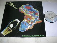 Fela Anikulapo-Kuti ORIGINALE sufferhead * German Arista LP * afrofunk Killer *