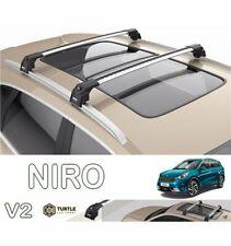 Barres de toit Kia Niro 2016> transversales Turtle V2 avec serr.