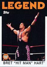 "2016 Topps WWE Legend Bret ""Hit Man"" Hart"