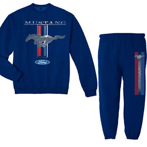 Ford Mustang Decal Sweatpants Sweatshirt Sweats Gifts for Men
