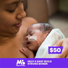 $50 Charitable Donation For: Help a Baby Build Strong Bonds
