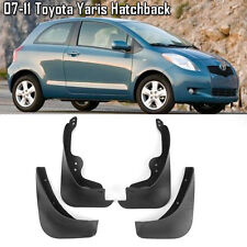 OE Front Rear set 4 Pcs Splash Mud Guards Flaps For 07-11 Toyota Yaris Hatchback