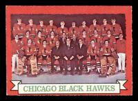 CHICAGO BLACK HAWKS TEAM 73-74 O-PEE-CHEE 1973-74 NO 96 EX+  18922
