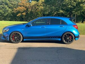 Genuine 3M Vinyl Mercedes A45 AMG Decals. A Class. Full Set Edition One Graphics