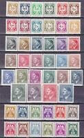 Nazi Occupation of Bohemia & Moravia 3 MNH Sets!