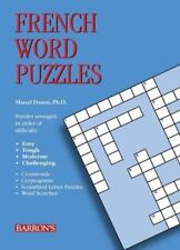 NEW - French Word Puzzles (Foreign Language Word Puzzles)