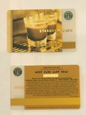 Starbucks Card 2006 Double Shot Espresso - Old Logo - NEW Rare MINT