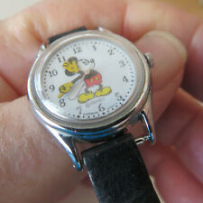 WRIST WATCH LORUS  MICKEY MOUSE  QUARTZ   WATER RESISTANT    RUNNING NEW BATTERY