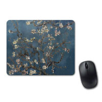 Van Gogh Flower Art Lovely Mouse Pad Computer Tablet PC Laptop Mice Mat