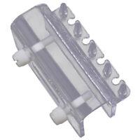 Aquarium Dosierpumpe Rohrklemme 4-Rohr Halter Befestigung Tube Fixture Holder ct