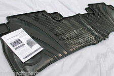 TOYOTA LANDCRUISER 200 SERIES RUBBER FLOOR MAT 2ND ROW 2007-2012 NEW GENUINE