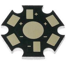10 x PCB disipador de aluminio para LEDs 1W-3W
