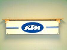 KTM MOTO VINTAGE BANNER Workshop Garage Classic 1970s Motocross MX