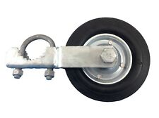 """GATE HELPER WHEEL: for Chain Link Fence and other Swing Gates with 1.5-2"""" Frames"""