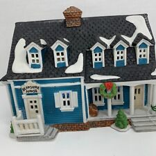 Dept 56 New England Village Berkshire House Blue 1989 Retired Original Hang Tag