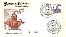 Ersttagsbrief 1982 Sonderstempel BONN Marke 120 Pfennig Schloss Charlottenburg