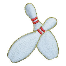 Bowling Pins Applique Patch (Iron on)