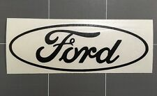 Ford Logo Sticker Gloss Black Vinyl Avery Graphics