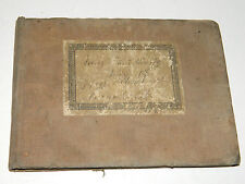 1899 partition CHANT militaire ancien OLD Military Marches GERMAN ELSASS NEUDORF