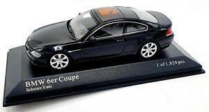 EBOND Modellino BMW 6er Coupe 2006 - Minichamps - 1:43 - 0107.