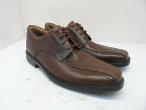 Unbranded Men's Low-Cut Oxford Casual Shoes 60903158 Brown Leather Size 9M
