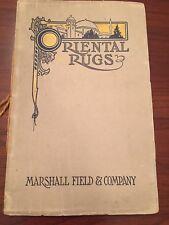 New listing Rare Marshall Field & Company Oriental Rugs Rug Catalog Catalogue Persian Asian