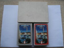 1951 FESTIVAL OF BRITAIN WORSHIPFUL COMPANY MADE DOUBLE PACK OF PLAYING CARDS