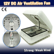 12V Caravan RV Air Vent Fan Roof Hatch Motorhome Camper Ventilation Exhaust Fan