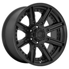 "Fuel 1Pc ROGUE Matte Black 20x9""Ford F150 Rims 6x135 +1 offset, Each"