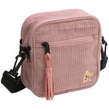 Korilakkuma Shoulder Bag Corduroy Pink San-X Japan Rilakkuma