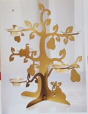 "PartyLite ""Golden Pear Tealight Tree"", Nib"