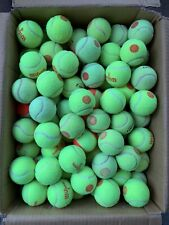 250 Used Orange Tennis Balls, For Walkers, Dogs, Little League Baseball