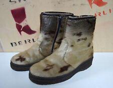 Winterstiefel Fell Stiefel Boots Obermain 70er TRUE VINTAGE 80er fur snow Yeti