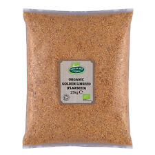 Organic Golden Linseed (Flaxseed) 25kg Certified Organic