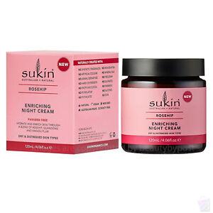 Sukin Rosehip Enriching NIGHT CREAM for dry skin 120ml