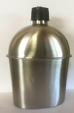G.I. Style 1 Qt. STAINLESS STEEL CANTEEN