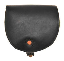 Us Civil War Black Leather Cartridge Box