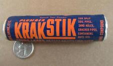 Vintage Plumber KRAKSTIK Lake Chemical Co Chicago Ill
