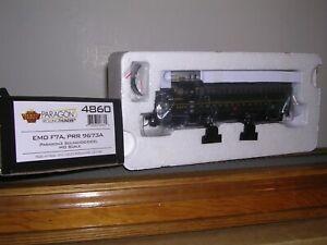 B.L.I. #4860 P.R.R. EMD F7A Diesel Loco #9673A w/DCC & Paragon 3 Sound H.O. 1/87
