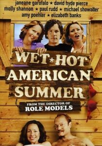 WET HOT AMERICAN SUMMER (WS) NEW DVD