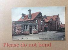 GULLANE : BISSET'S HOTEL. Postally unused old postcard.