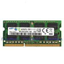 Samsung 4GB PC3L-12800 DDR3L 1600Mhz 204pin SODIMM Laptop Memory NON-ECC 1.35v