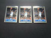 2006-07 Kyle Lowry Topps Chrome Rookie Lot x3 162 RC Toronto Raptors