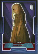 Doctor Who 2015 Red Parallel [50] Base Card #89 Peg Doll