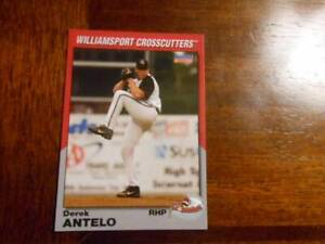 2005 WILLIAMSPORT CROSSCUTTERS Choice Single Cards YOU PICK FROM LIST $1-$3 each