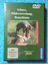 JAGD HEUTE DVD 12 Schuss, Wildverwertung, Brauchtum Kosmos Jägerprüfung NEU