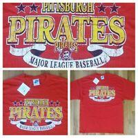 Pittsburgh Pirates Baseball Team t shirt L New NWT steelers penguins