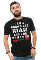 Mens Funny T-shirt Gift for Boyfriend Birthday Gift for men Grown man Funny Tee