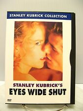 DVD EYES WIDE SHUT Stanley Kubrick Collection Movie - NUDE Nicole Kidman